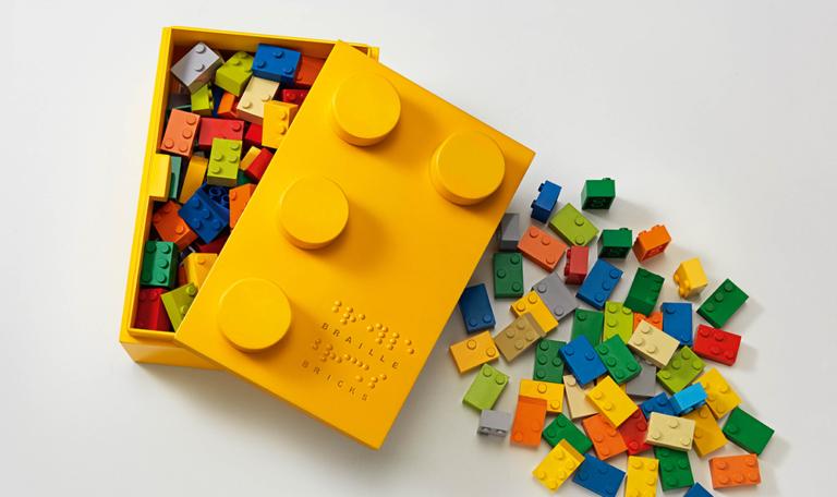 Lego launches new bricks to help blind children learn braille