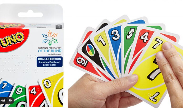 Mattel launches Braille version of UNO