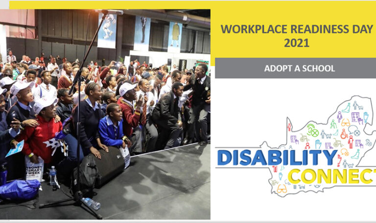 Become a partner and adopt a school for the Disability Connect Workplace Readiness Day for the Class of 2021